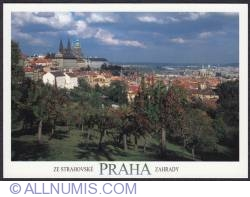 Image #1 of Prague-Castle from Strahov gardens
