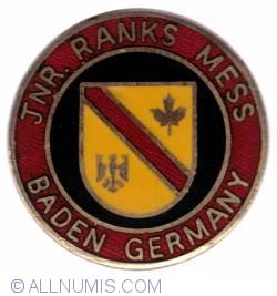 Imaginea #1 a CFB Baden-Soellingen Junior rank mess