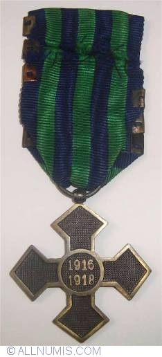 Image #2 of Commemorative Cross for the 1916-1918 War with 6 bars