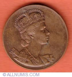 Imaginea #1 a Coronation Medal Elizabeth II of Canada