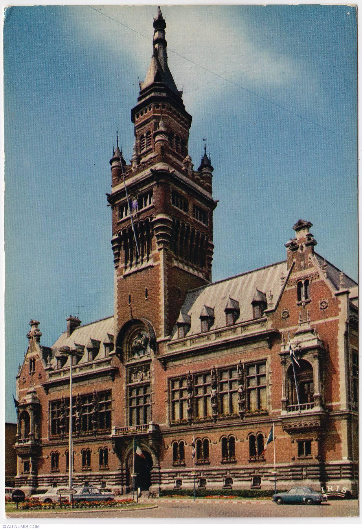 Dunkirk City Hall Nord Pas De Calais France Postcard