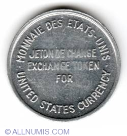 Image #2 of Expo 67 US currency exchange token