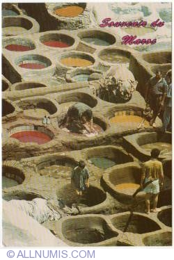Image #1 of Fes-Chouara tannery-2010