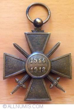Image #2 of France -  Croix de guerre (War Cross) 1914–1918