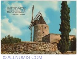 Image #1 of Frontvieille-Alphonse Daudet's Wind mill -1973