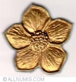 Imaginea #1 a Golden flower