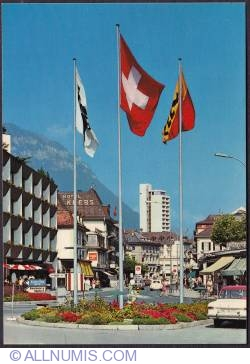 Image #1 of Interlaken - Trainstation street (Bahnofstrasse)