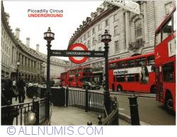 London - Piccadilly Circus underground
