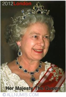 Image #1 of London - Her Majesty the Queen Elizabeth II