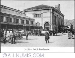Lyon_ Gare de Lyon-Perrache station 1900