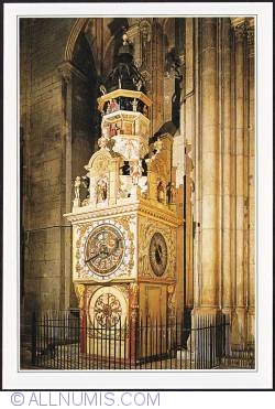 Lyon_ St-Jean Cathedral astrological clock