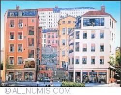 Image #1 of Lyon_Le Mur des Canuts 1997