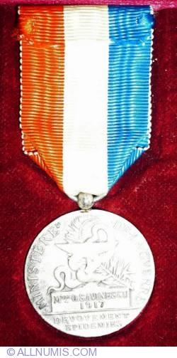 Image #2 of Médaille d Honneur des Épidémies 1917