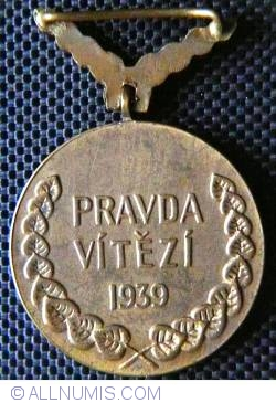 Image #2 of Medal for Bravery 1939-1945 issue