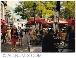 Image #1 of Paris-Montmartre-Place du Tertre-1973