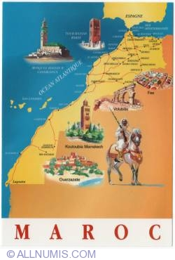 Image #1 of Morocco-country map-2010
