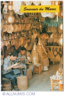 Image #1 of Morocco-ornamental brass-ware-2010