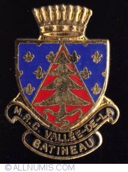 Image #1 of M.R.C. Vallée-de-la-Gatineau-Coat of Arms (Outaouais)
