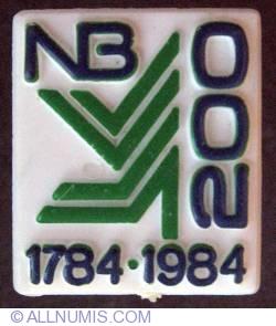 Imaginea #1 a NB 200th 1784-1984