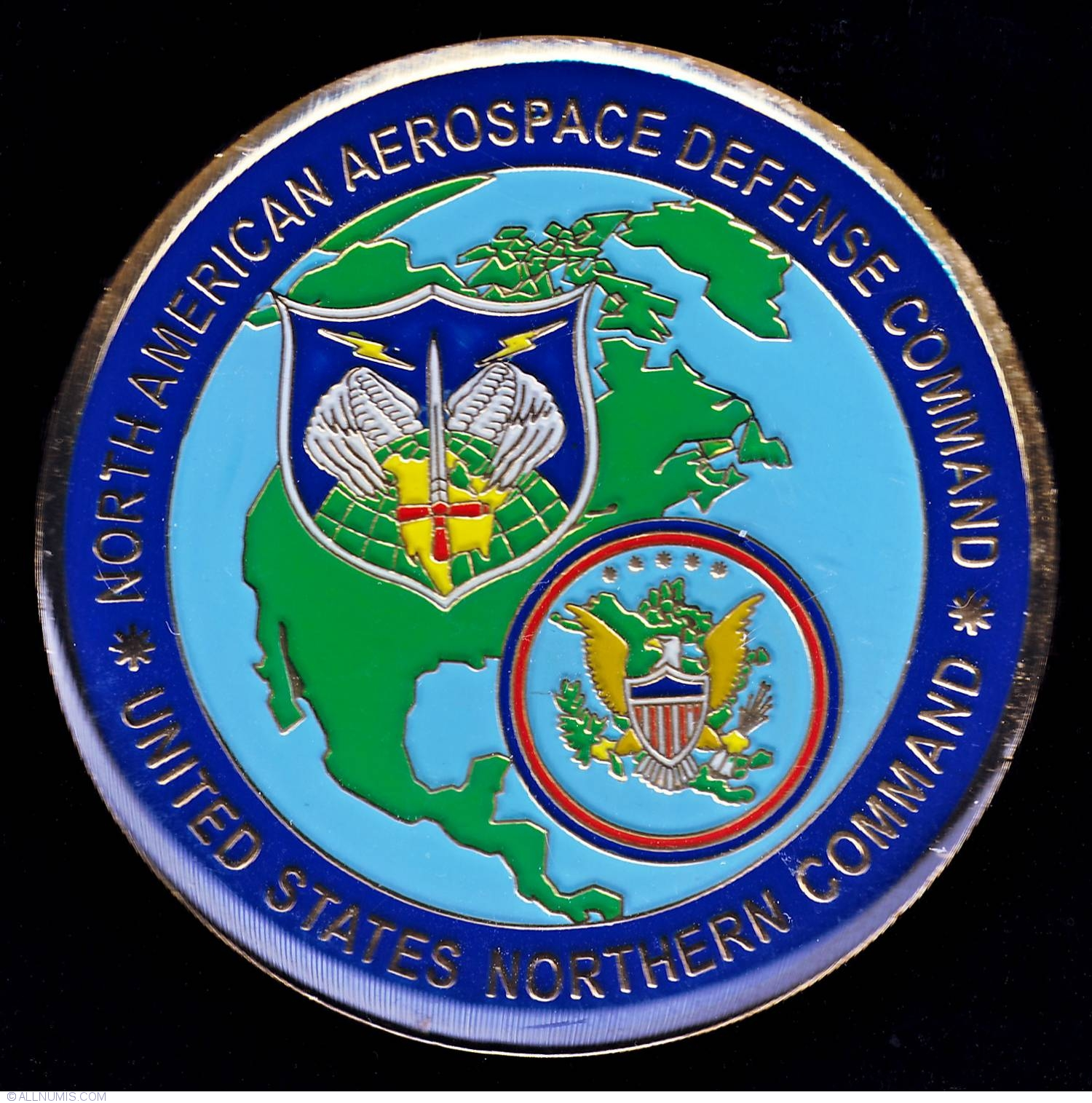 norad us northcom sergeant major military challenge coin