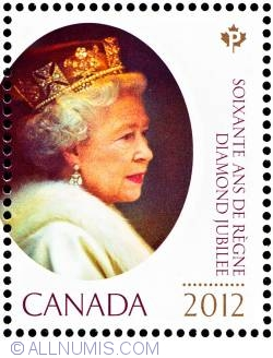 Imaginea #1 a P 2012-Queen Elizabeth II (2003-2012)