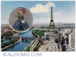 Paris and mini doll