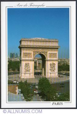 Imaginea #1 a Paris - Arcul de Triumf - L'Arc de Triomphe (2008)