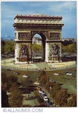 Paris - Arcul de Triumf - L'Arc de Triomphe (1970)