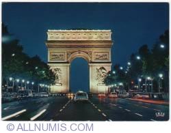 Paris-Champs-Elysées by night-1973