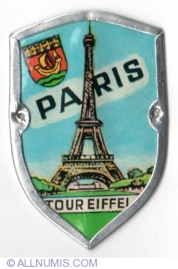 Image #1 of Paris Eiffel tower-1978