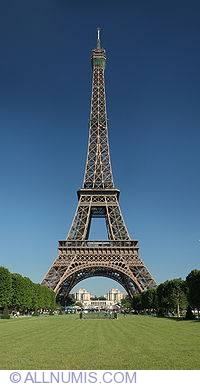 Image #2 of Paris Eiffel tower-1978