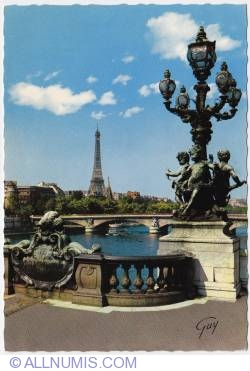Imaginea #1 a Paris-Eiffel tower and city bridges
