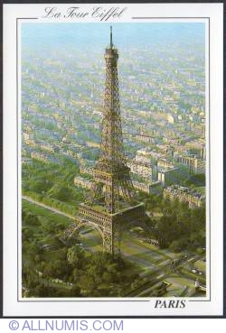Image #1 of Paris-Eiffel tower-overflight