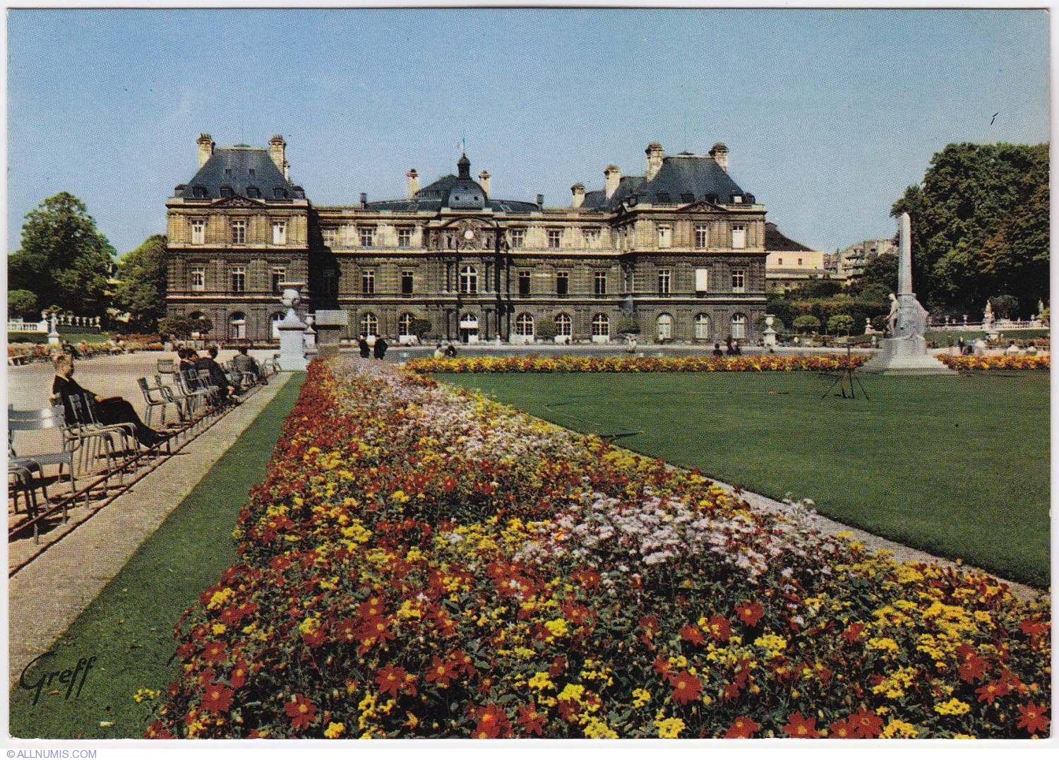 Paris jardin du luxembourg 1970 1970 1972 paris and le for Jardin du luxembourg