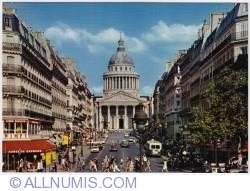 Paris-Soufflot street & the Panthéon-1973