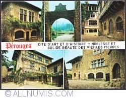 Image #1 of Pérouges_ old stone houses and walls