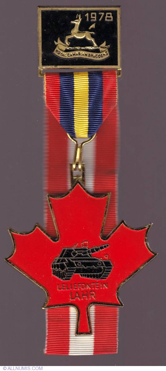 Royal Canadian Dragoon, Volksmarching - Canada - Medal - 510