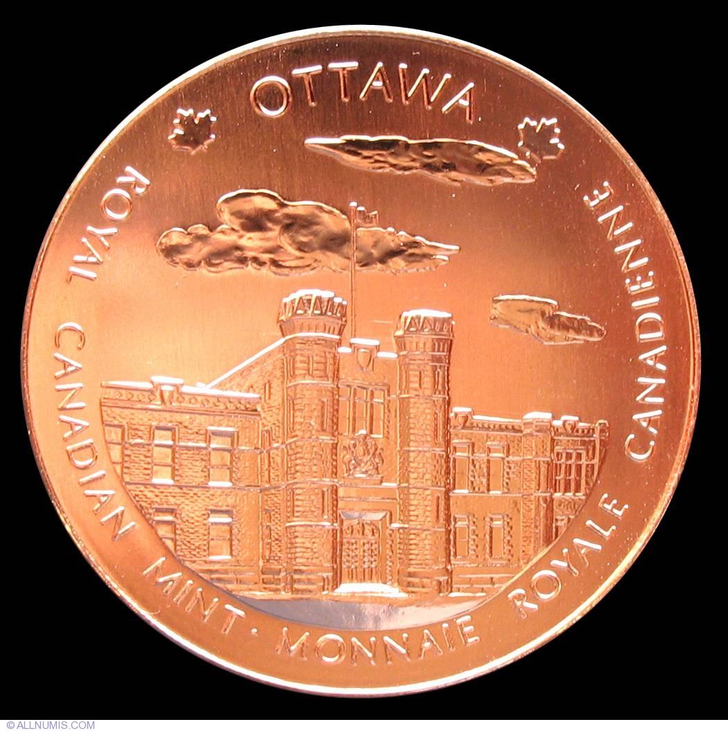 Winnipeg Ottawa medal Canada Royal Canadian Mint medallion