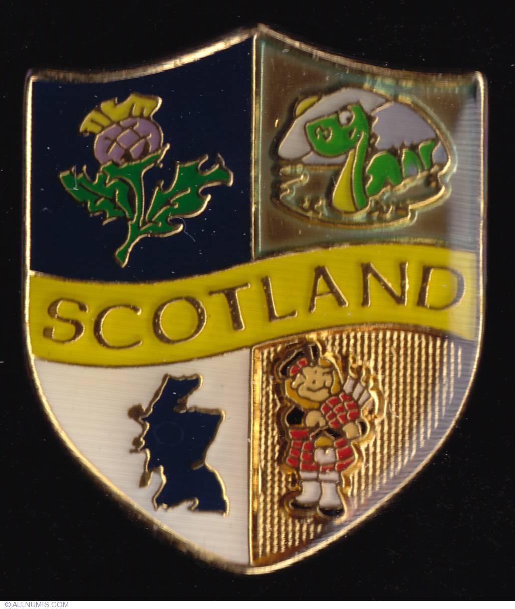 Scotland Symbols National Emblem Scotland Pin 4320