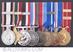 Image #1 of Set of Canadian awarded medals