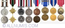 Image #2 of Set of Canadian awarded medals