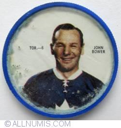 Imaginea #1 a Shirriff Hockey coin-John Bower Toronto #6