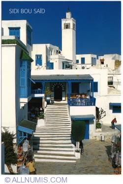 Image #1 of Sidi Bou Said - Blue on White