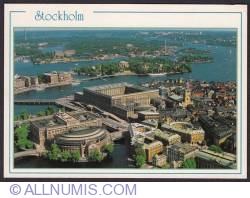 Image #1 of Stockholm-Royal Palace-aerial view