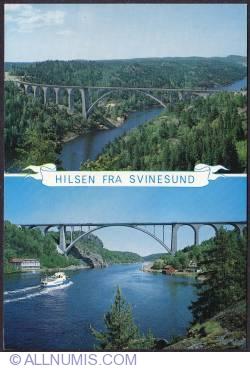 Imaginea #1 a Svinesund-the Norway-Sweden linking bridge