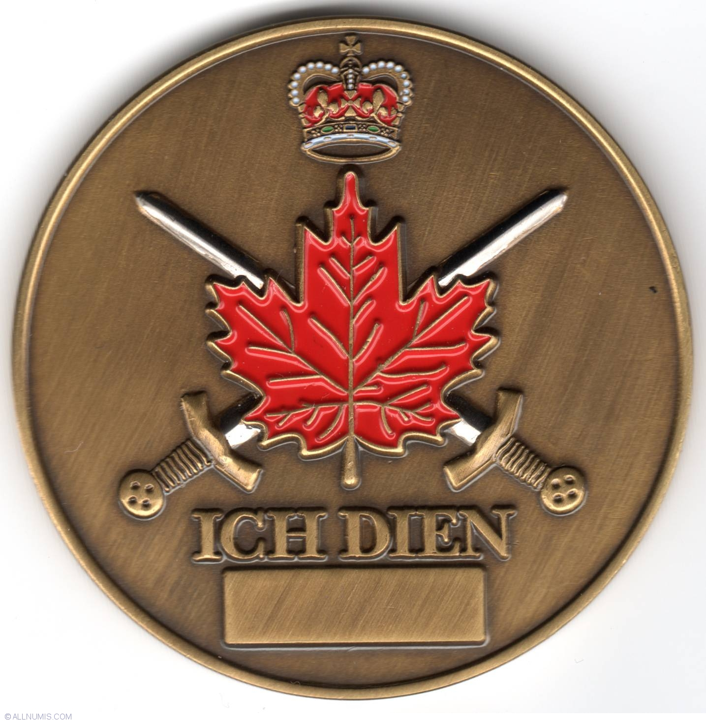 The Royal Regiment Of Canada Military Challenge Coin Army