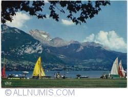 Image #1 of The Tournette mountain and Annecy lake