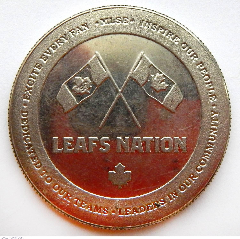 Toronto Maple Leaf Hockey Club Organization Canada Medal 20542