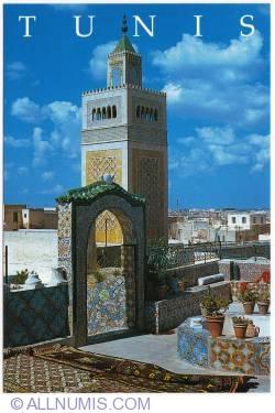 Image #1 of Tunis - Ezzitouna Mosque minaret
