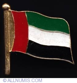 Imaginea #1 a United Arab Emirates flag 2002